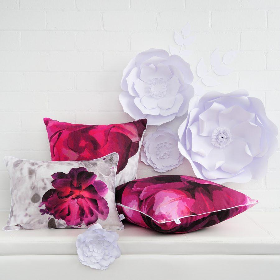 Victorian Glasshouse Linen Cushions