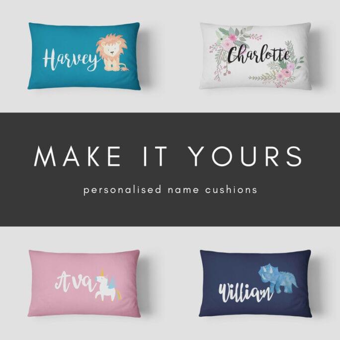 Name Cushions