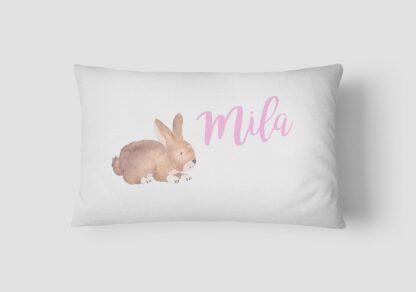 Bunny Personalised Name cushion
