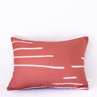 Umber Horizon Linen Cushion