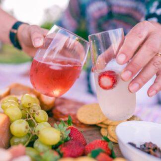 Picnic Glasses - 4x Wine 4x Champagne
