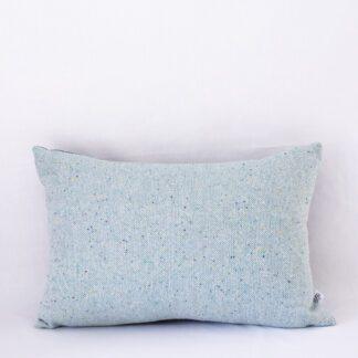 Aqua Textured Fleck Midi Cushion