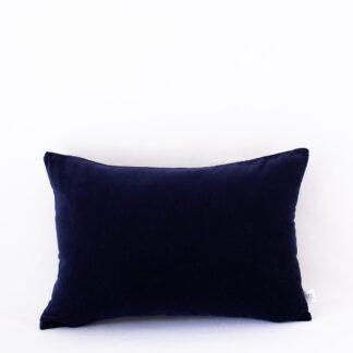 Navy Velvet Midi Cushion